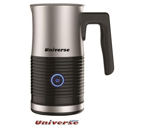כד מקציף חלב UNIVERSE לחימום חלב והקצפה, הבסיס נשלף וקל לניקוי, הספק 500W דגם NRI-945