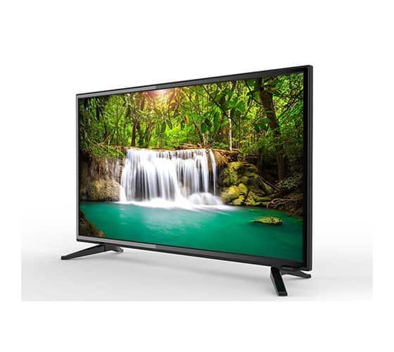 """טלויזיה 32"""" בגוון שחור מבריק HD Ready נורמנדה Normande LE32H-C32"""