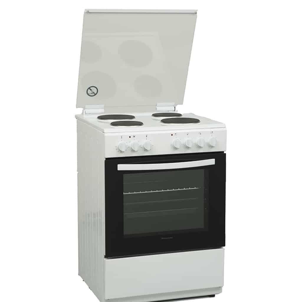 תנור אפיה משולב כיריים חשמליות Normande נורמנדה KL-6060FE