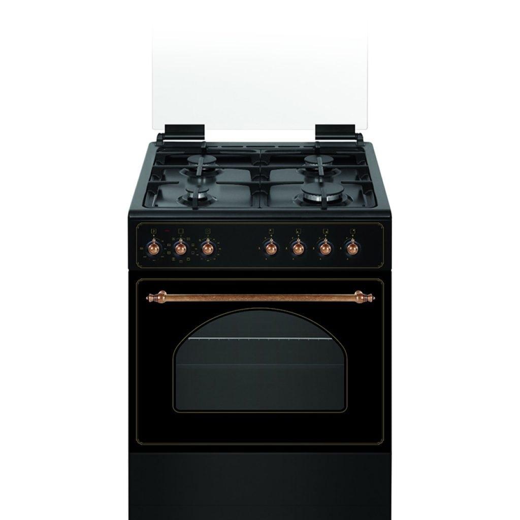 תנור אפיה כפרי משולב 9 תכניות Normande נורמנדה NR-6060