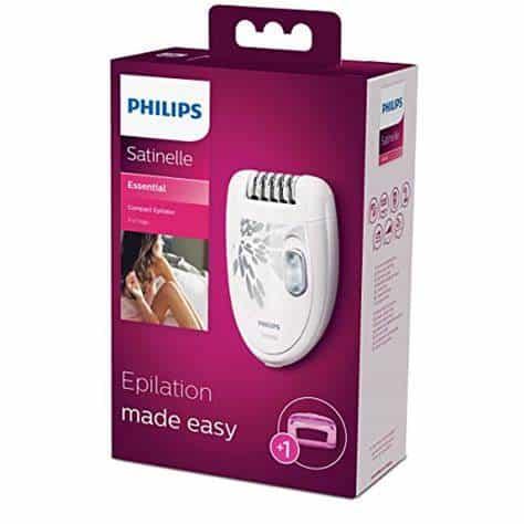 Philips Satinelle Essential HP6401 מכשיר אפילציה גילוח חשמלי