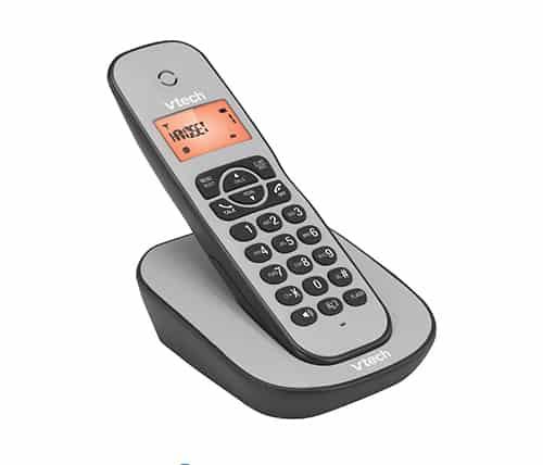 טלפון אלחוטי Vtech HELIO CS1000 בצבע אפור