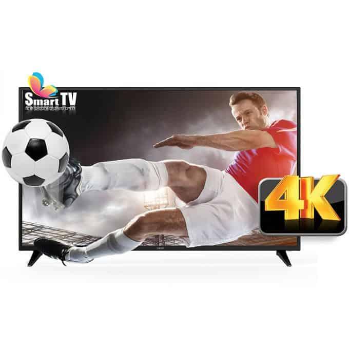 טלוויזיה SMART 4K LED בגודל 50″ מבית פוג'יקום FUJICOM דגם FJ-50U7