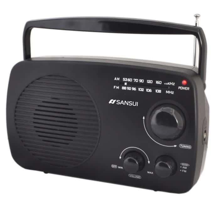 רדיו ביתי איכותי AM / FM מבית Sansui סאנסוי