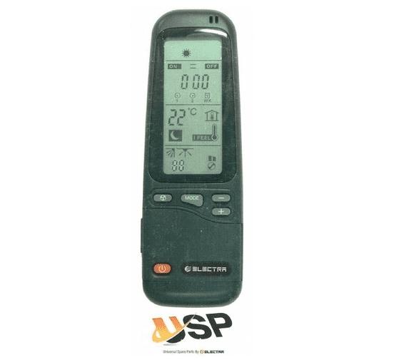 שלט אוניברסלי למזגני אלקטרה USP-4008 ו USP 4006
