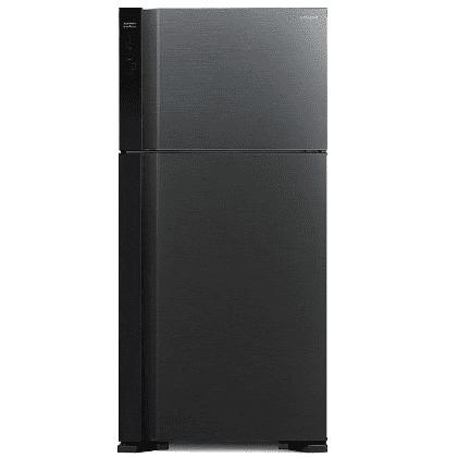 מקרר היטאצ'י מקפיא עליון 565 ליטר R-V610PRS7(BBK) שחור HITACHI