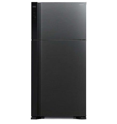 מקרר היטאצ'י מקפיא עליון 489 ליטר R-V540PRS7(BBK) שחור HITACHI