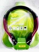 אוזניות ראש צבע שחור PHP-012 GP