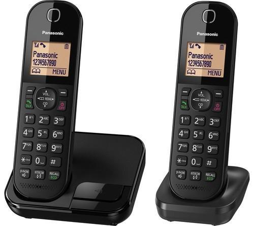 טלפון אלחוטי פנסוניק Panasonic KX-TGC412 שחור