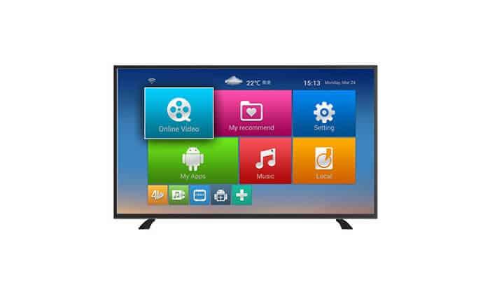 טלוויזיה  חכמה 45″ Full HD LED עם 2 חיבורי HDMI ו 2 חיבורי USB מבית Normande נורמנדה NTV-4500