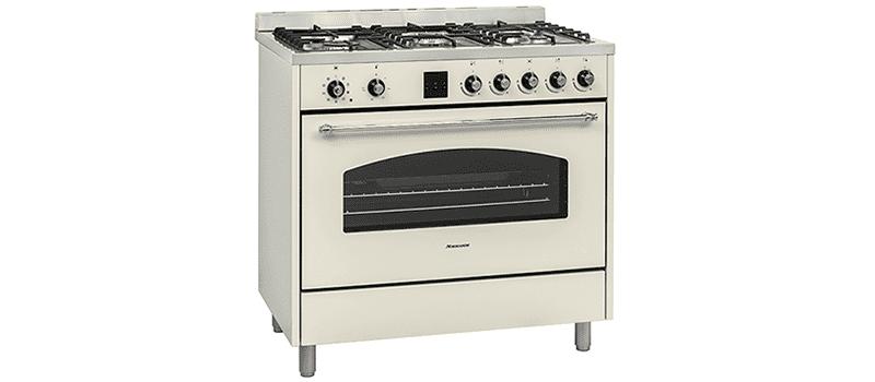 תנור רחב נורמנדה Normande KL-9006BG נורמנדה קרם משולב