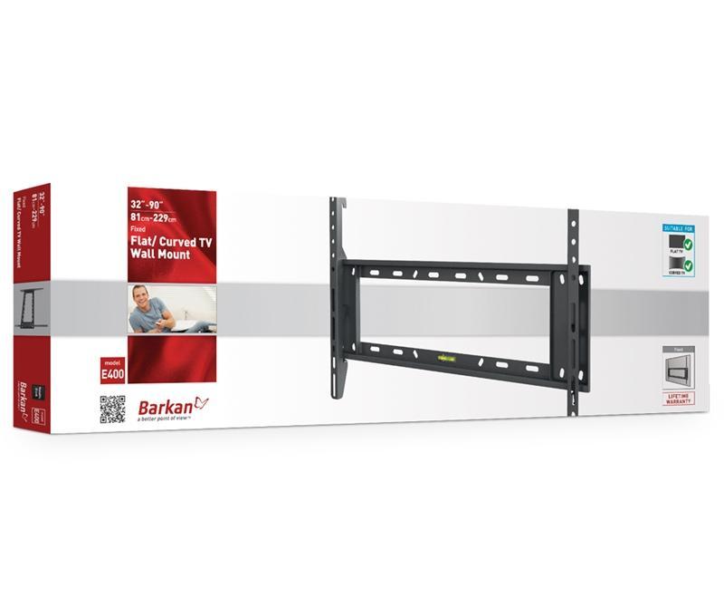 מתקן תליה לטלוויזיה זרועות ברקן E400plus