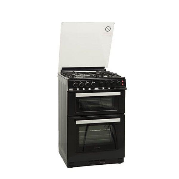 תנור אפיה משולב הלכתי דו תאי שחור Normande נורמנדה ND-66BK