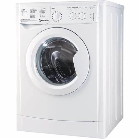 """מכונת כביסה פתח קידמי Indesit IWC91282 9 ק""""ג"""